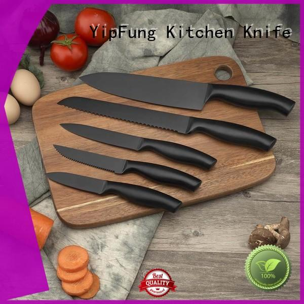 YipFung kitchen knife set factory price for home use