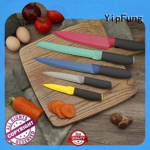 stainless steel knife hollow handle for restaurant YipFung