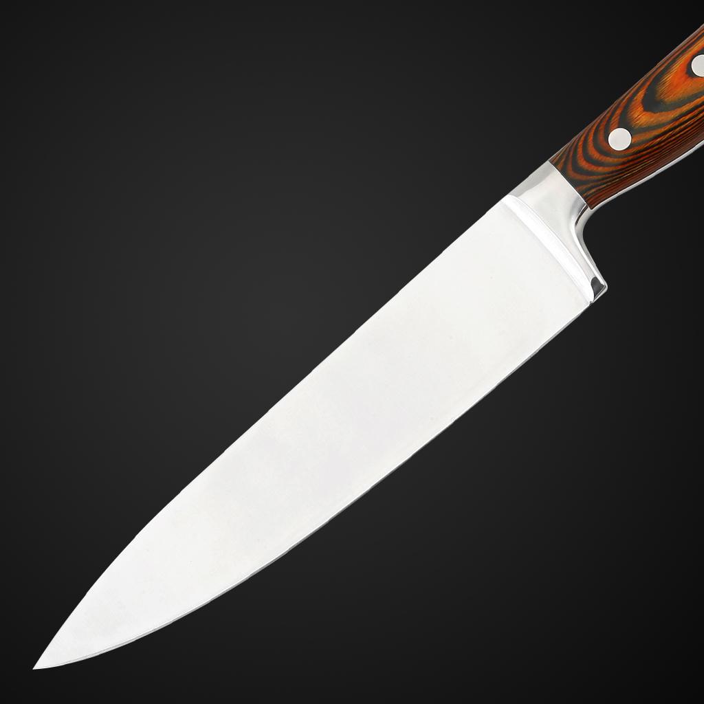 Pakka wooden knife set-7pcs