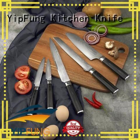 YipFung damascus fork manufacturing for restaurant