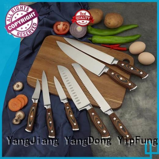 YipFung custom kitchen knife manufacturing for restaurant