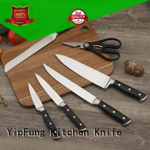 YipFung damascus chef knife manufacturing for dinner