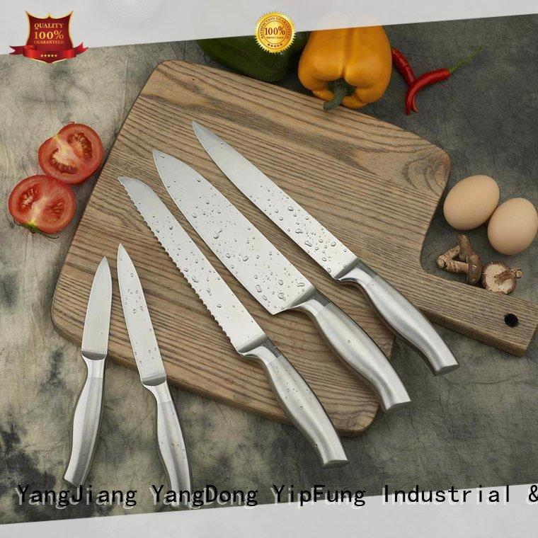 marble kitchen knife set supplier for dinner