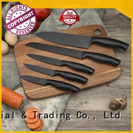 latest kitchen knife set design for restaurant