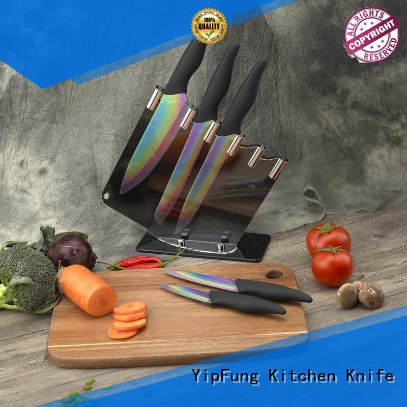 YipFung kitchen knife set customized for dinner