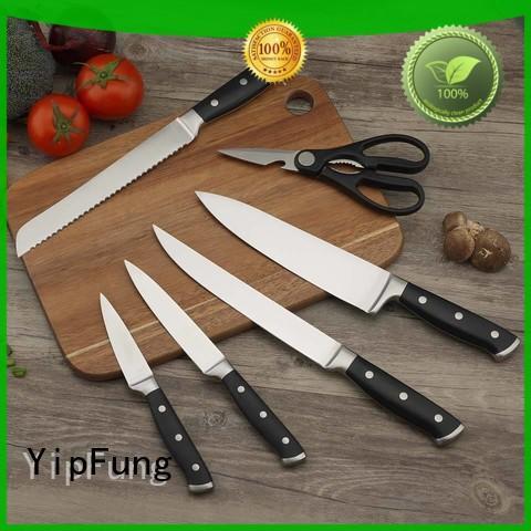 colorful kitchen knife design for dinner