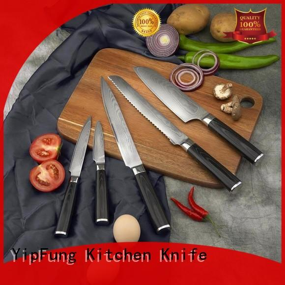 YipFung non-stick coating chef knife manufacturing for restaurant