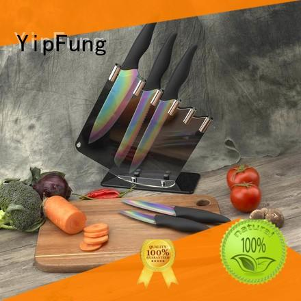 YipFung chef knife design for dinner
