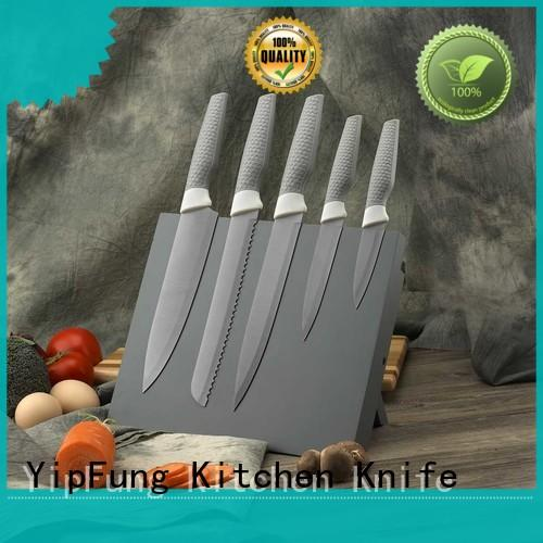 YipFung gold titanium fork manufacturing for restaurant