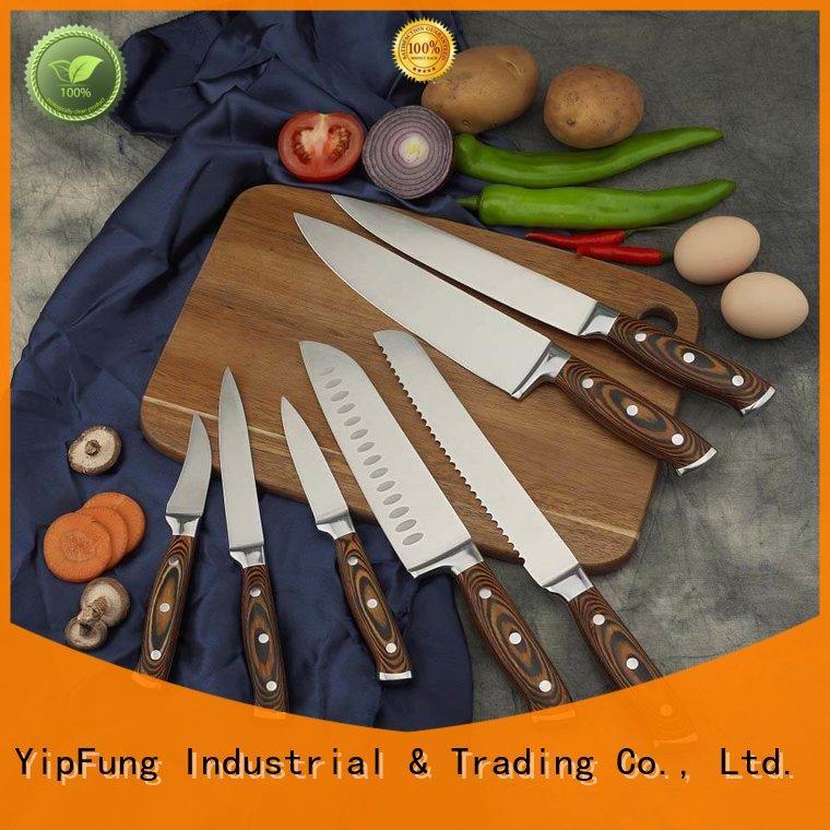 YipFung razor sharp professional chef knives for restaurant
