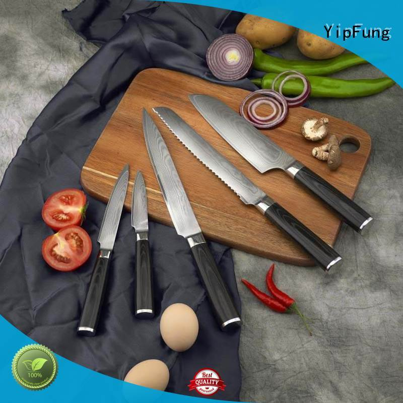 gold titanium chef knife wholesale for home use