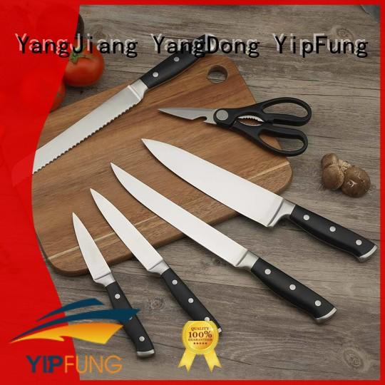 YipFung sharp kitchen knife set supplier for home use