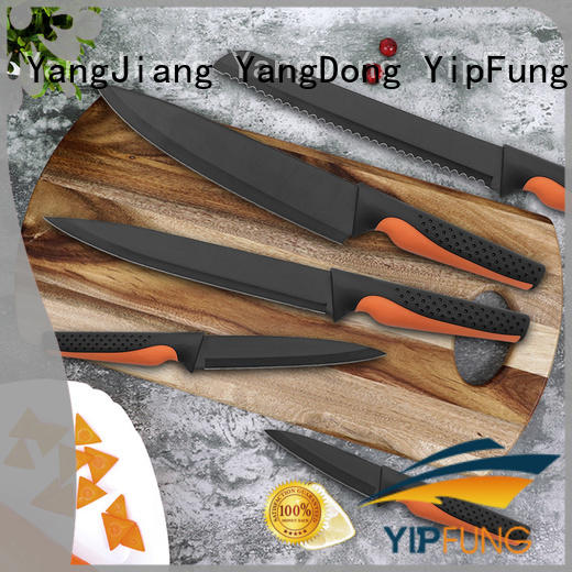 YipFung colorful kitchen knife wholesale for home use