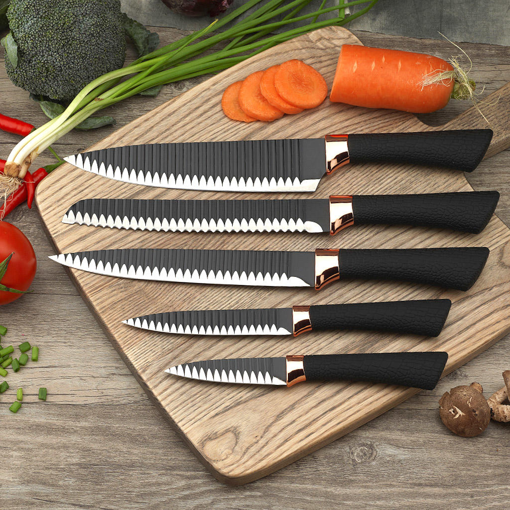 Yipfung Best quality Kitchen Knife Set of 5 Pieces