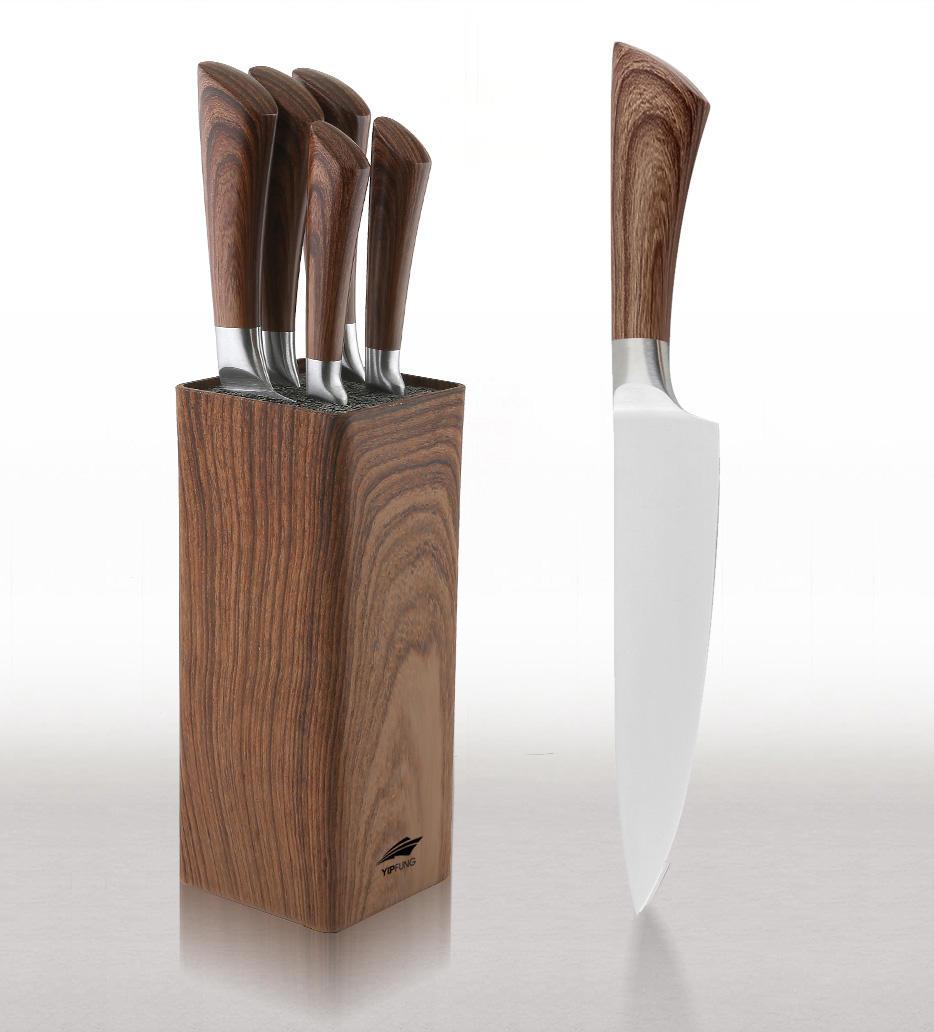 Yipfung Universal Knife Block Set Includes