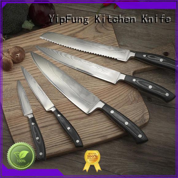 YipFung damascus fork wholesale for home use