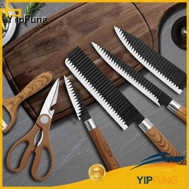 YipFung new chef knife set factory for home use