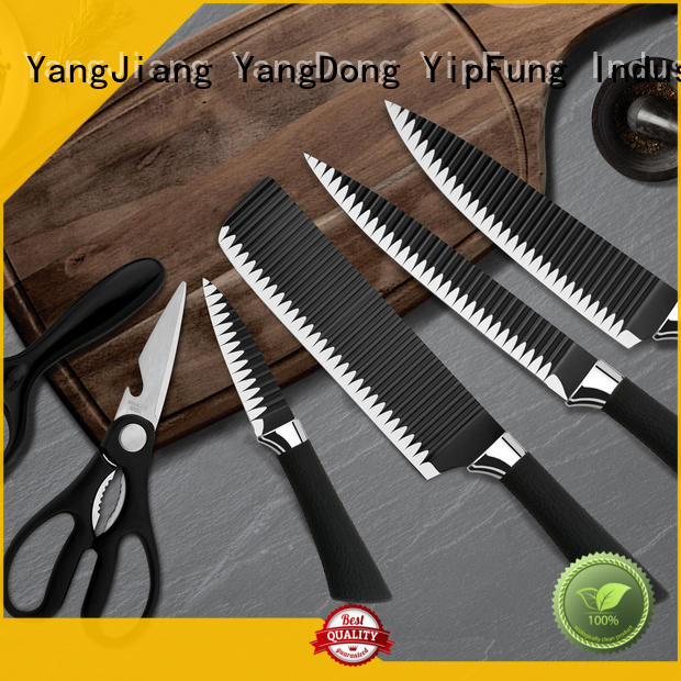 YipFung durable kitchen knife set supplier for kitchen