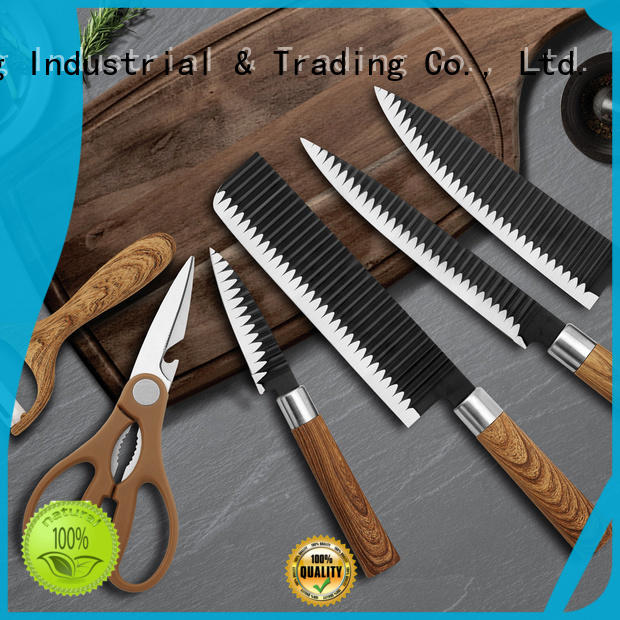 YipFung durable kitchen knife set suppliers for home use