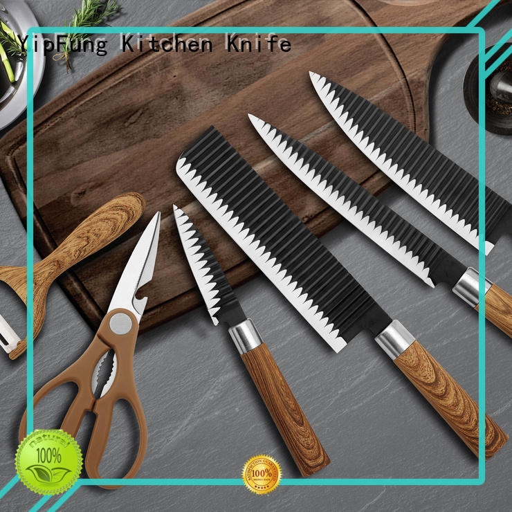 YipFung knife set supplier for cooking