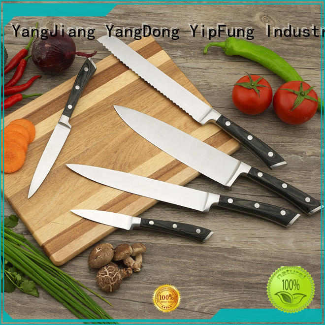 YipFung sharp kitchen knife set manufacturing for dinner