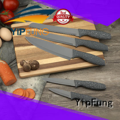 YipFung kitchen knife set supplier for dinner