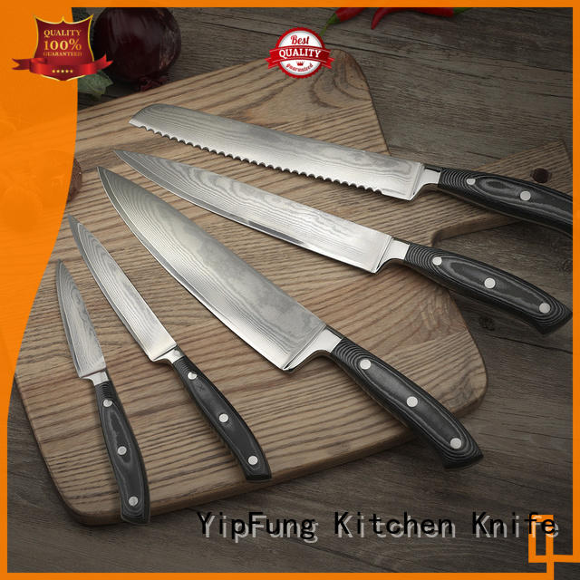 YipFung kitchen knife set design for home use