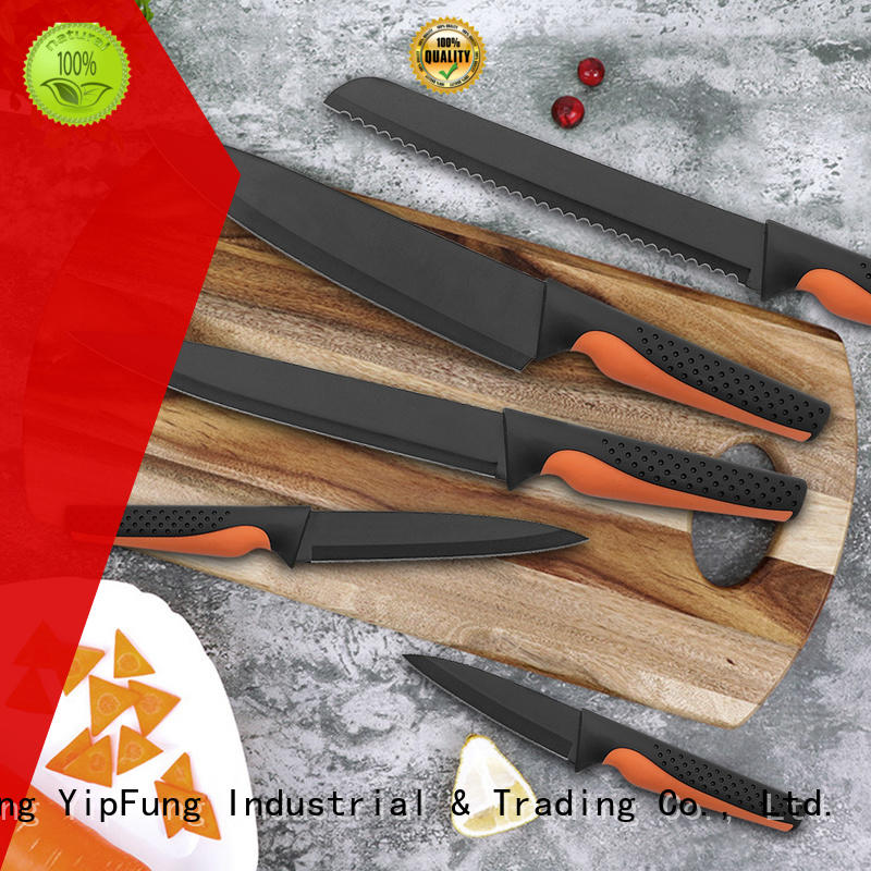 YipFung non-stick coating chef knife customized for dinner