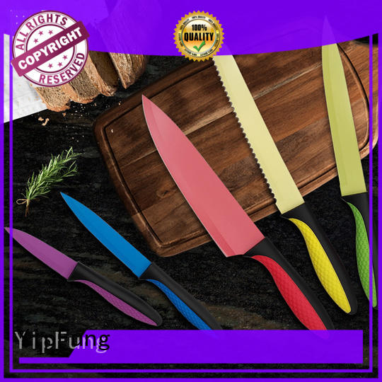 YipFung kitchen knife set supplier for home use