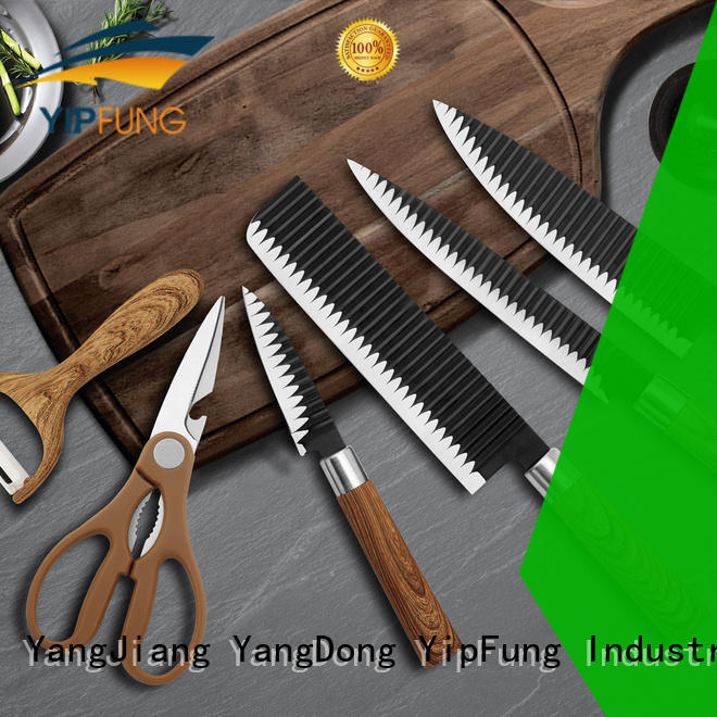 YipFung kitchen knife set manufacturer for home use