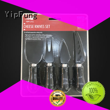 popular cheese knife set supplier for home use