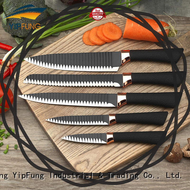 YipFung non-stick coating kitchen knife customized for dinner