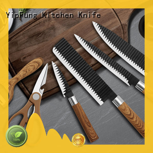 YipFung utility chef knife set with good price for kitchen