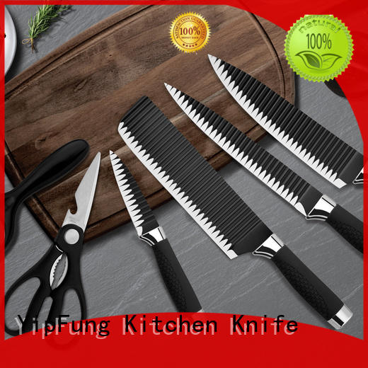 YipFung stainless steel kitchen knife set manufacturer for cooking