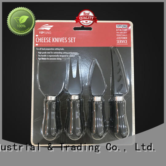 YipFung modern cheese knife set customized for kitchen