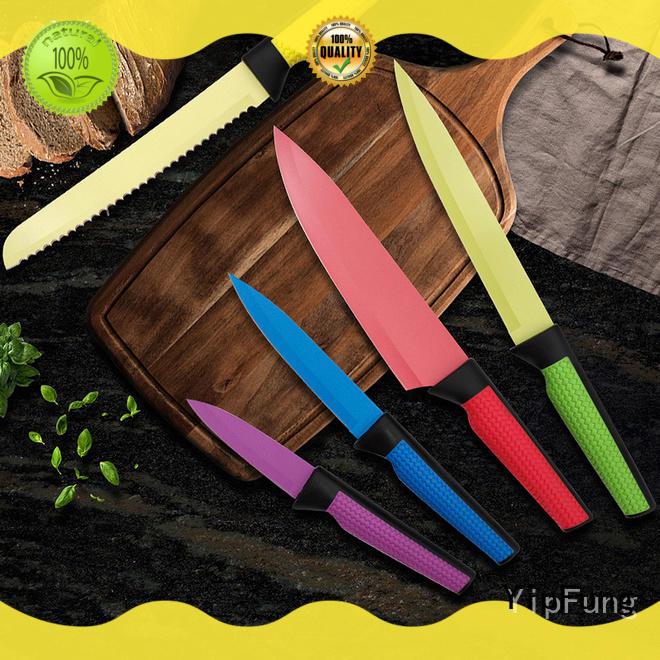 non-stick coating kitchen knife set design for dinner