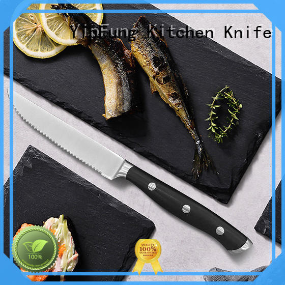 YipFung steak knife factory direct supply for dinner