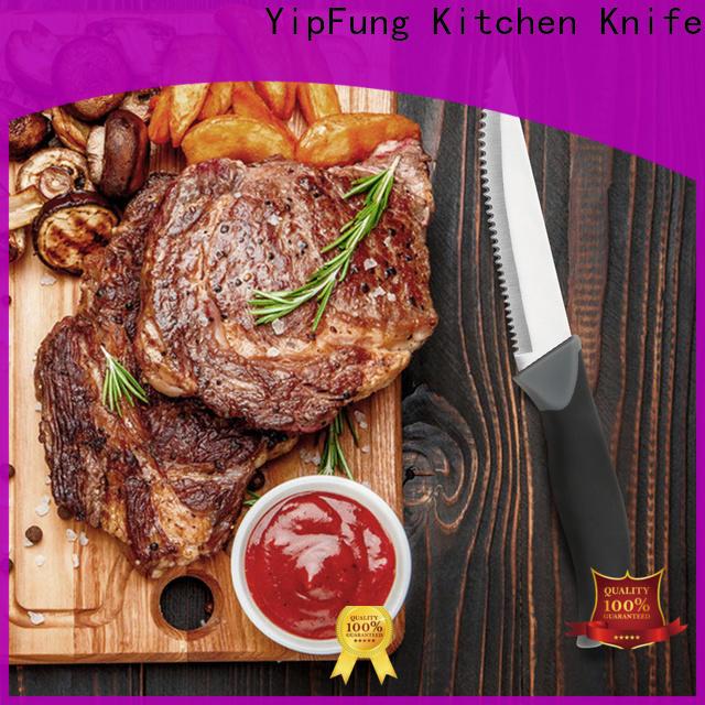 efficient steak knife series for dinner