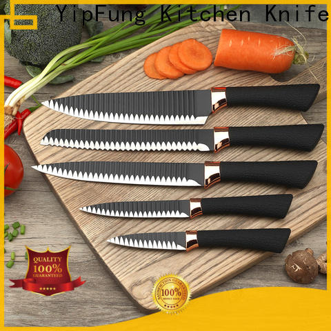 wholesale kitchen knife set with good price for dinner