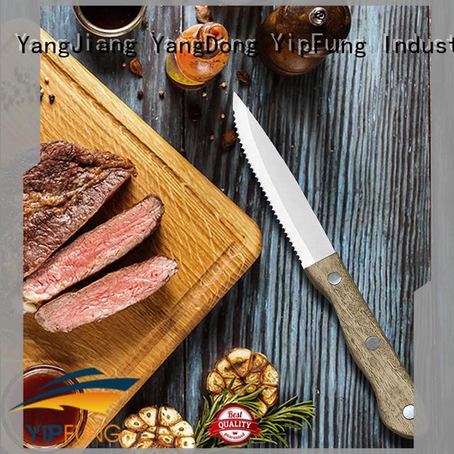 easy cutting steak knife customized for restaurant