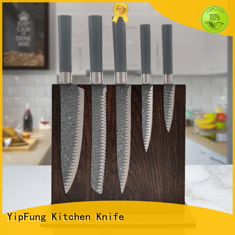 damascus steel knife set with good price for cooking