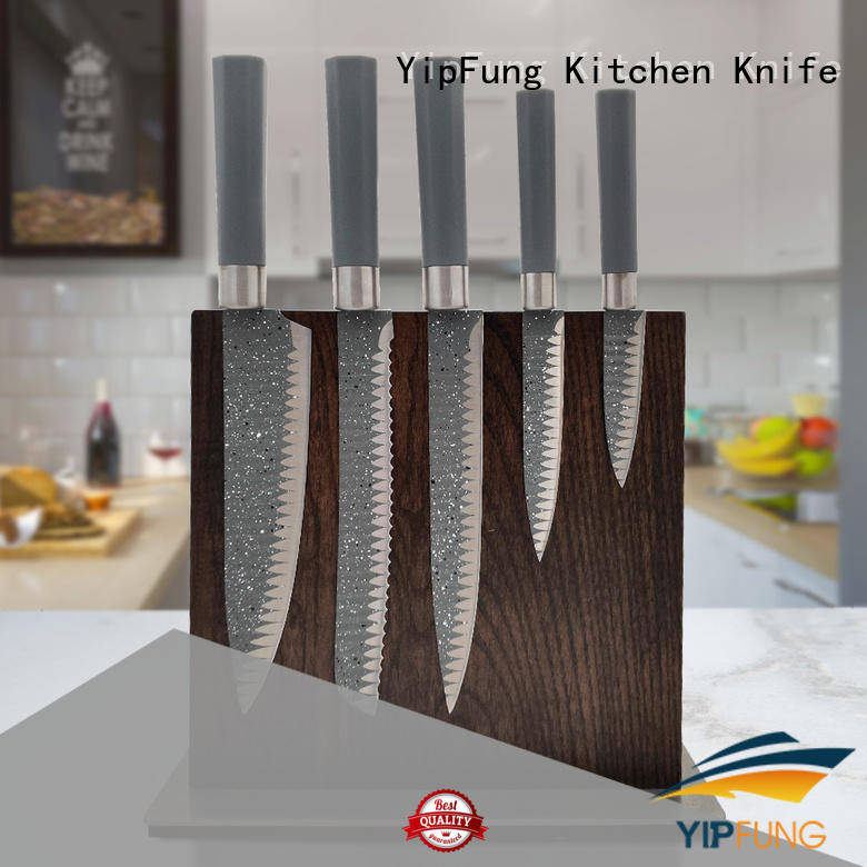 YipFung chef knife set factory for restaurant