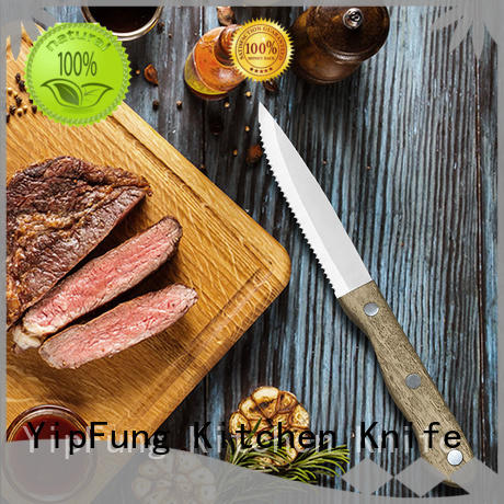 YipFung OEM serrated steak knives factory direct supply for home use