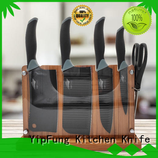 YipFung chef knife set customized for restaurant