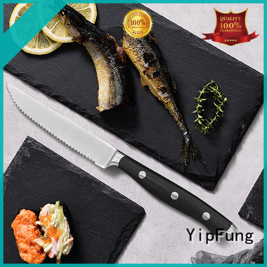 YipFung durable serrated steak knives factory direct supply for kitchen