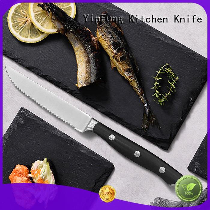 acacia wood steak knife manufacturer for dinner