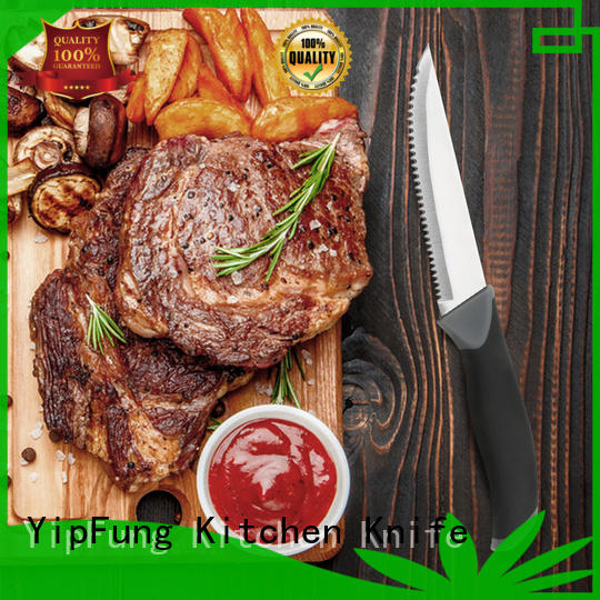 YipFung steak knife factory direct supply for kitchen