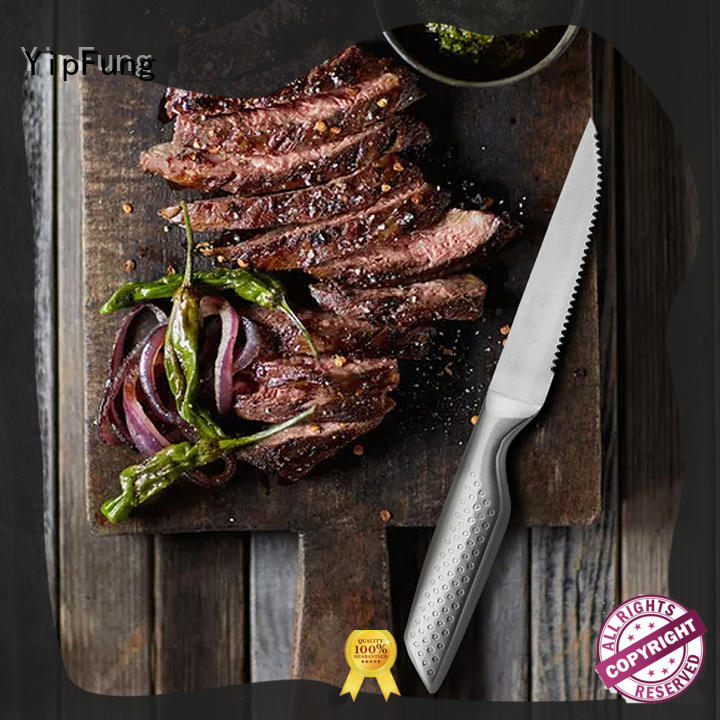 YipFung serrated steak knives manufacturer for restaurant