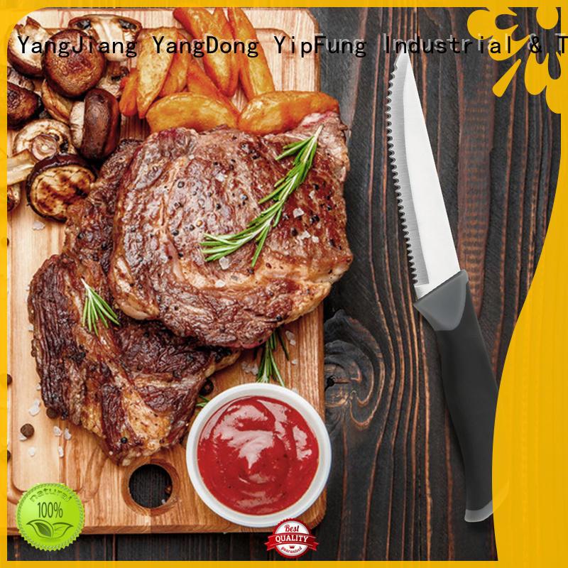 YipFung serrated steak knives manufacturer for restaurant