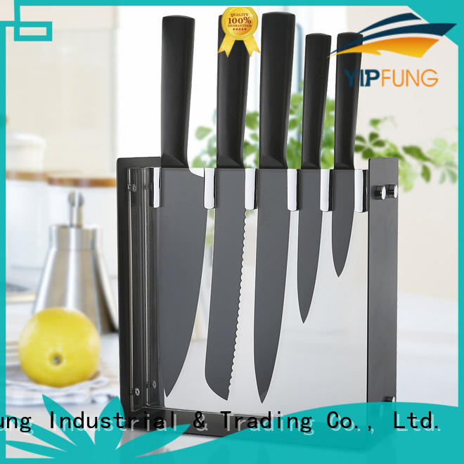 YipFung high quality kitchen knife set factory price for kitchen